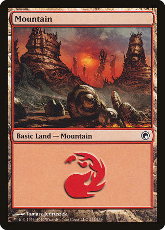 Mountain (242) [Scars of Mirrodin] | HFX Games