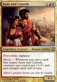 Anax and Cymede [Duel Decks: Heroes vs. Monsters] | HFX Games