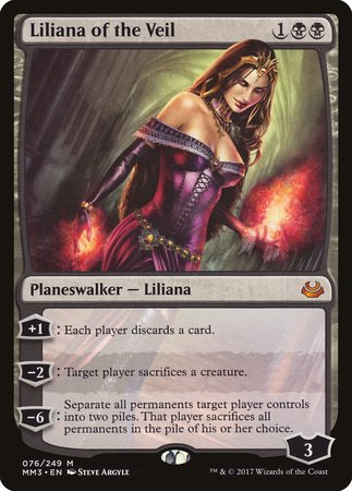 Liliana of the Veil [Modern Masters 2017] | HFX Games