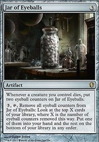 Jar of Eyeballs [Commander 2013] | HFX Games