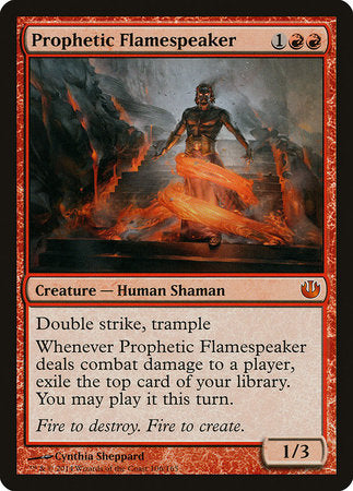 Prophetic Flamespeaker [Journey into Nyx] | HFX Games