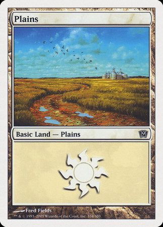Plains (334) [Ninth Edition] | HFX Games