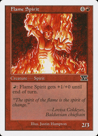 Flame Spirit [Classic Sixth Edition] | HFX Games