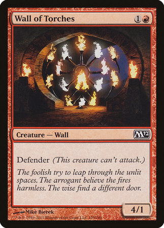Wall of Torches [Magic 2012] | HFX Games