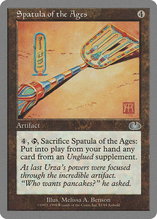 Spatula of the Ages [Unglued] | HFX Games