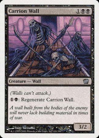 Carrion Wall [Eighth Edition] | HFX Games
