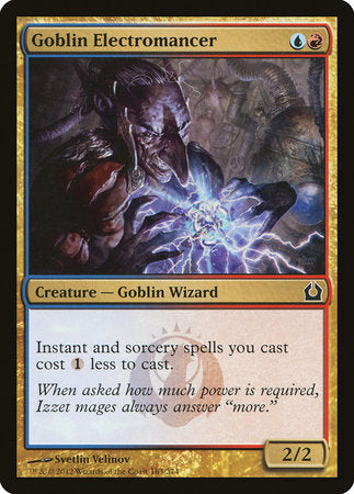 Goblin Electromancer [Return to Ravnica] | HFX Games