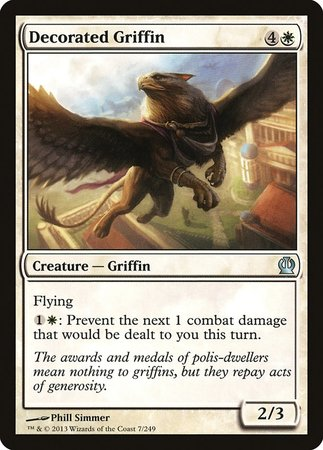 Decorated Griffin [Theros] | HFX Games