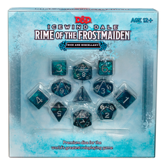 Rime of the Frost Maiden: Dice & Miscellany | HFX Games