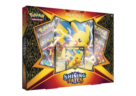 POKEMON SHINING FATES PIKACHU V COLLECTION BOX | HFX Games