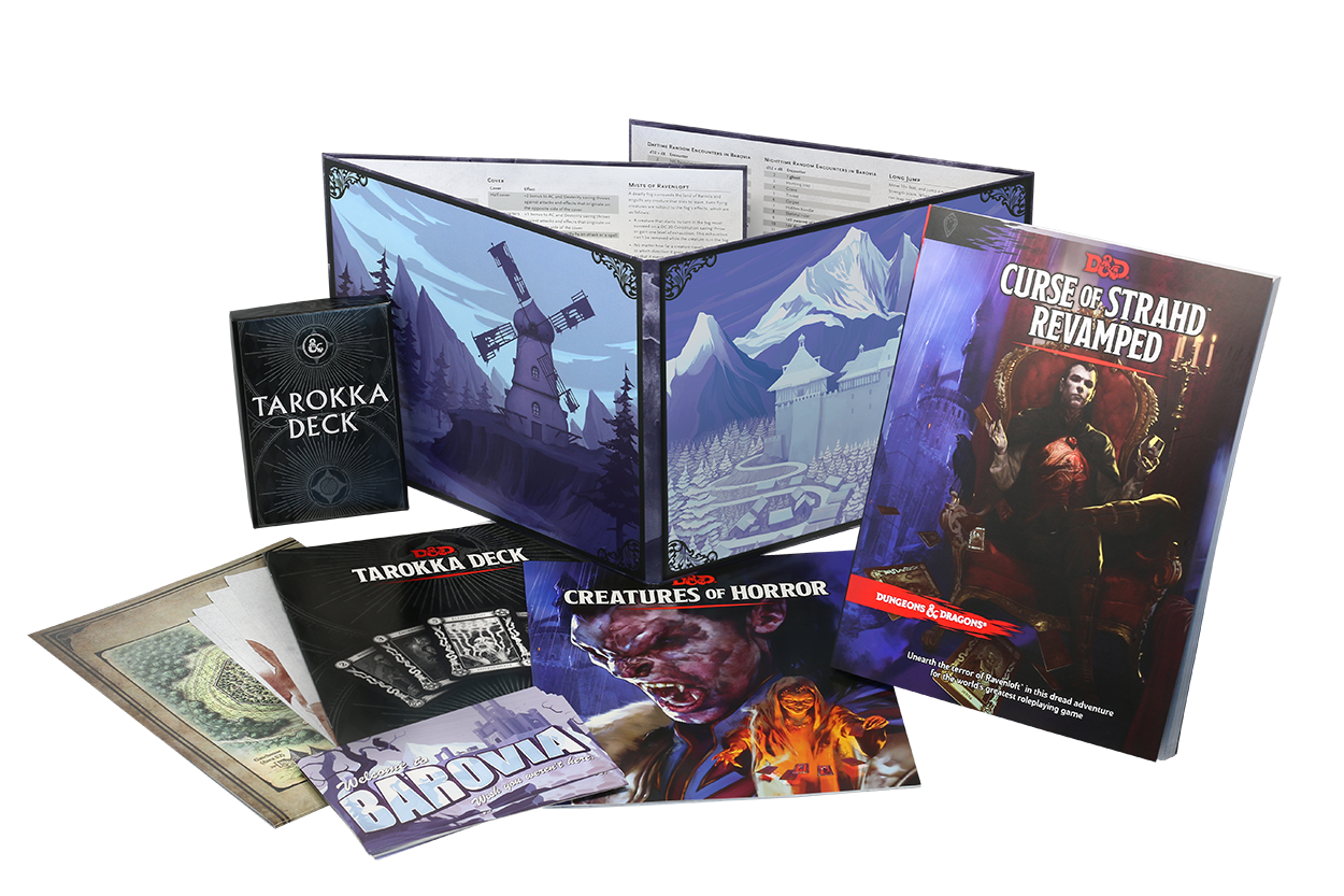 Curse of Strahd REVAMPED *Pre-order* | HFX Games