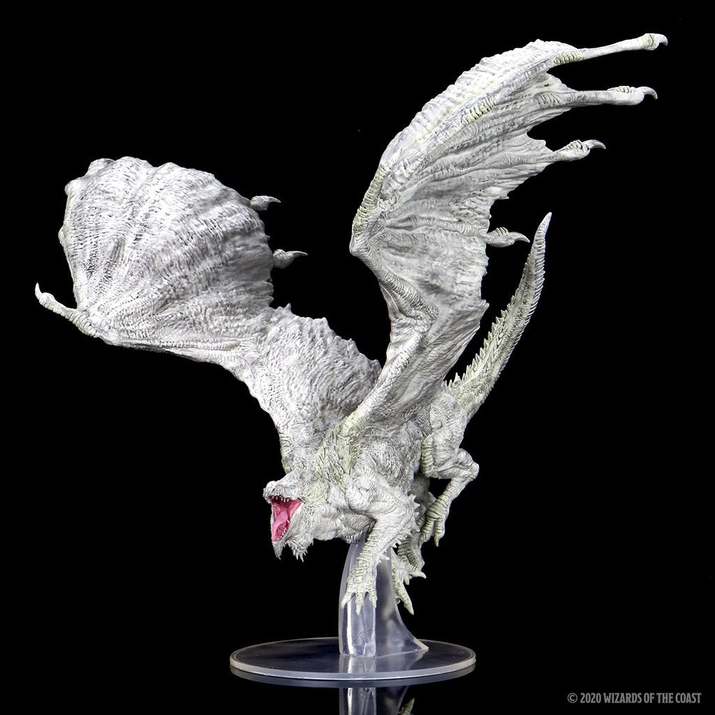 Adult White Dragon Premium Figure | HFX Games