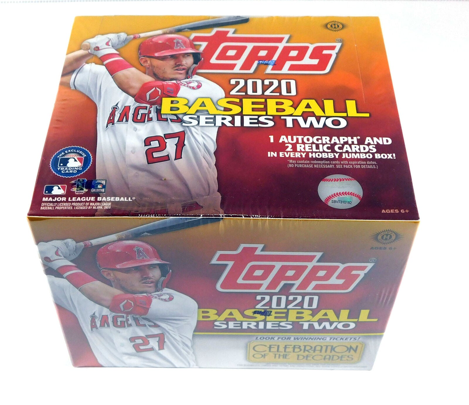 2020 Topps Baseball Series 2 Jumbo Box | HFX Games