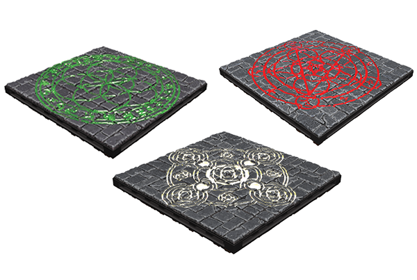 WarLock Tiles: Summoning Circles | HFX Games