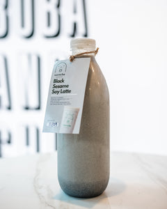 Black Sesame Soy Latte - Home Bottle