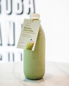 Matcha Chai Latte - Home Bottle