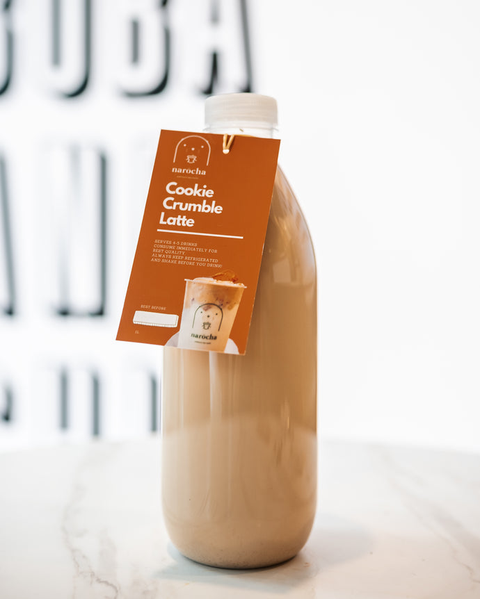 Cookie Crumble Latte - Home Bottle