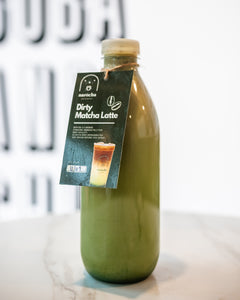 Dirty Matcha Latte - Home Bottle