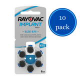 Rayovac Implant Pro+ 675 Battery