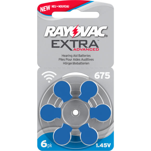Rayovac Extra Advanced 675 Battery