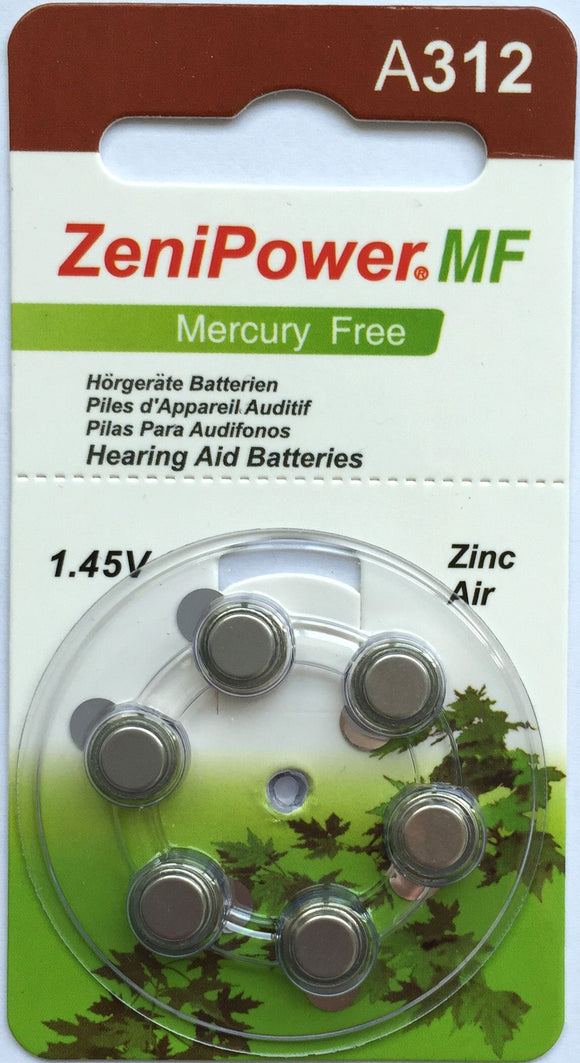 ZeniPower 312 Battery