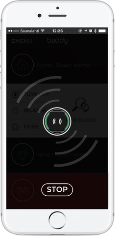 BiiSafe Buddy phone sound settings on Android