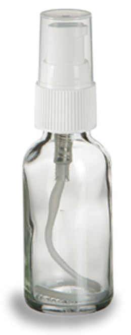 Glass Pump Bottle