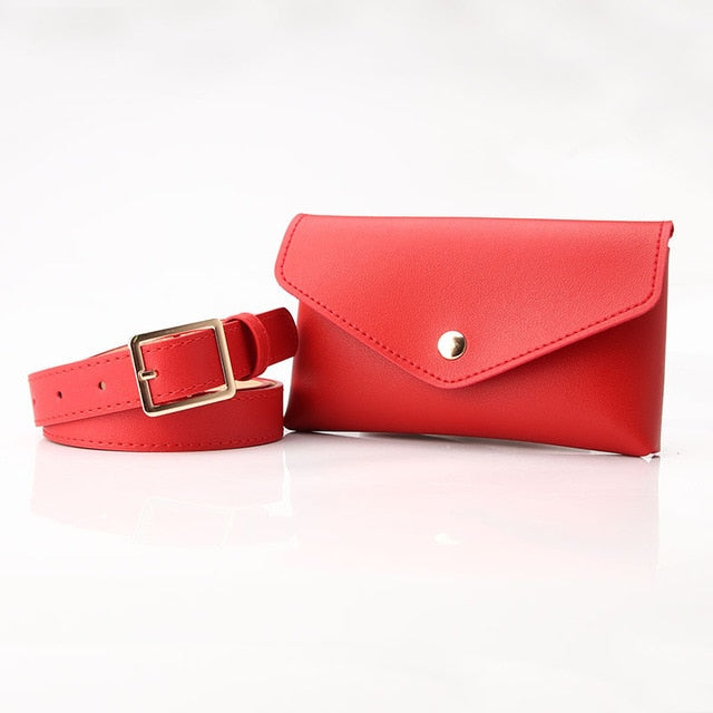 The Classic 2.0 Equestrian Belt Bag - Red