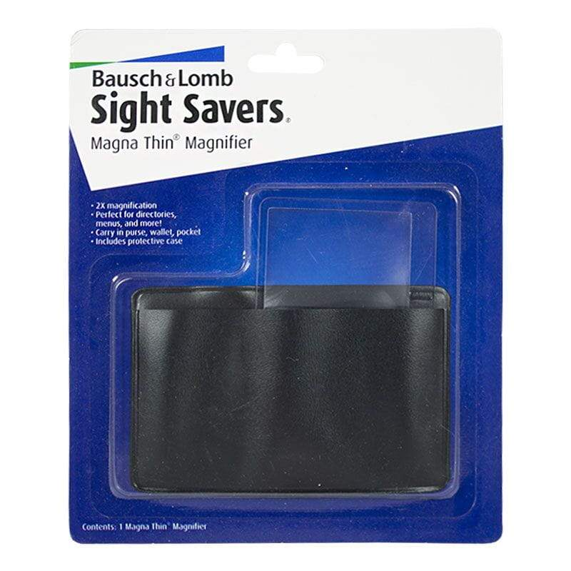 BAUSCH & LOMB SIGHT SAVERS (1 Magna Thin Magnifier)