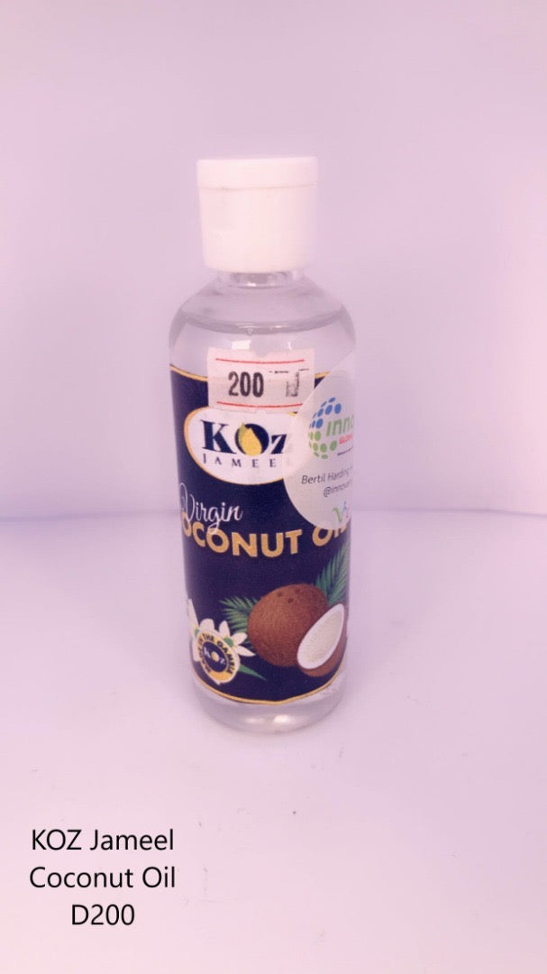 VIRGIN COCONUT OIL ''100ML''