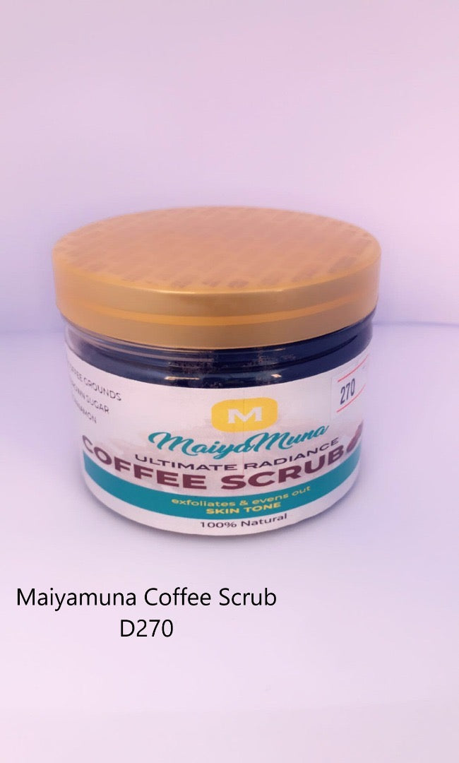 ULTIMATE RADIANCE COFFEE SCRUB ''225G''
