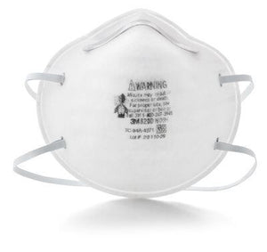 3M PARTICULATE RESPIRATOR N95 8200/07023 (SINGLE FACE MASK WITHOUT VALVE)