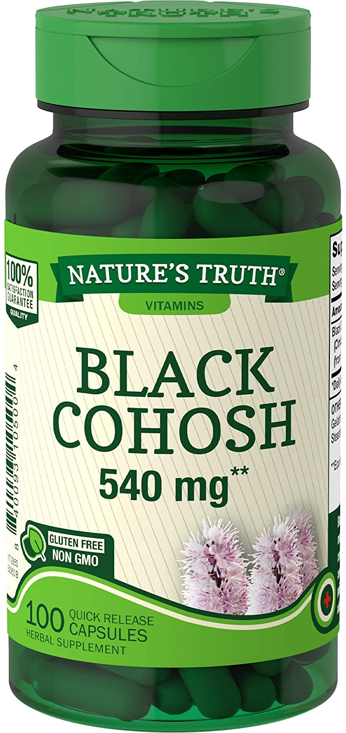 NATURES TRUTH BLACK COHOSH 540mg (100 Tablets)