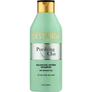 DESSANGE PARIS PURIFYING CLAY, BALANCING SYSTEM SHAMPOO (250ml)