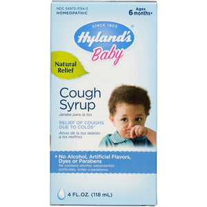 HYLAND'S BABY COUGH SYRUP (118ml)
