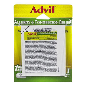ADVIL ALLERGY 7 CONGESTION RELIEF  (1 PILL DOSAGE)