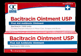 QC BACITRACIN OINMENT USP, FIRST AID OINTMENT (1 OZ)