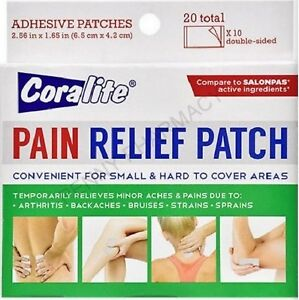 CORALITE PAIN RELIEF PATCH (20 Total Patches)