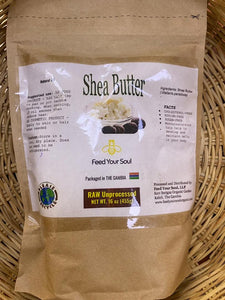 FEED YOUR SOUL SHEAR BUTTER NATURAL OIL (455g)