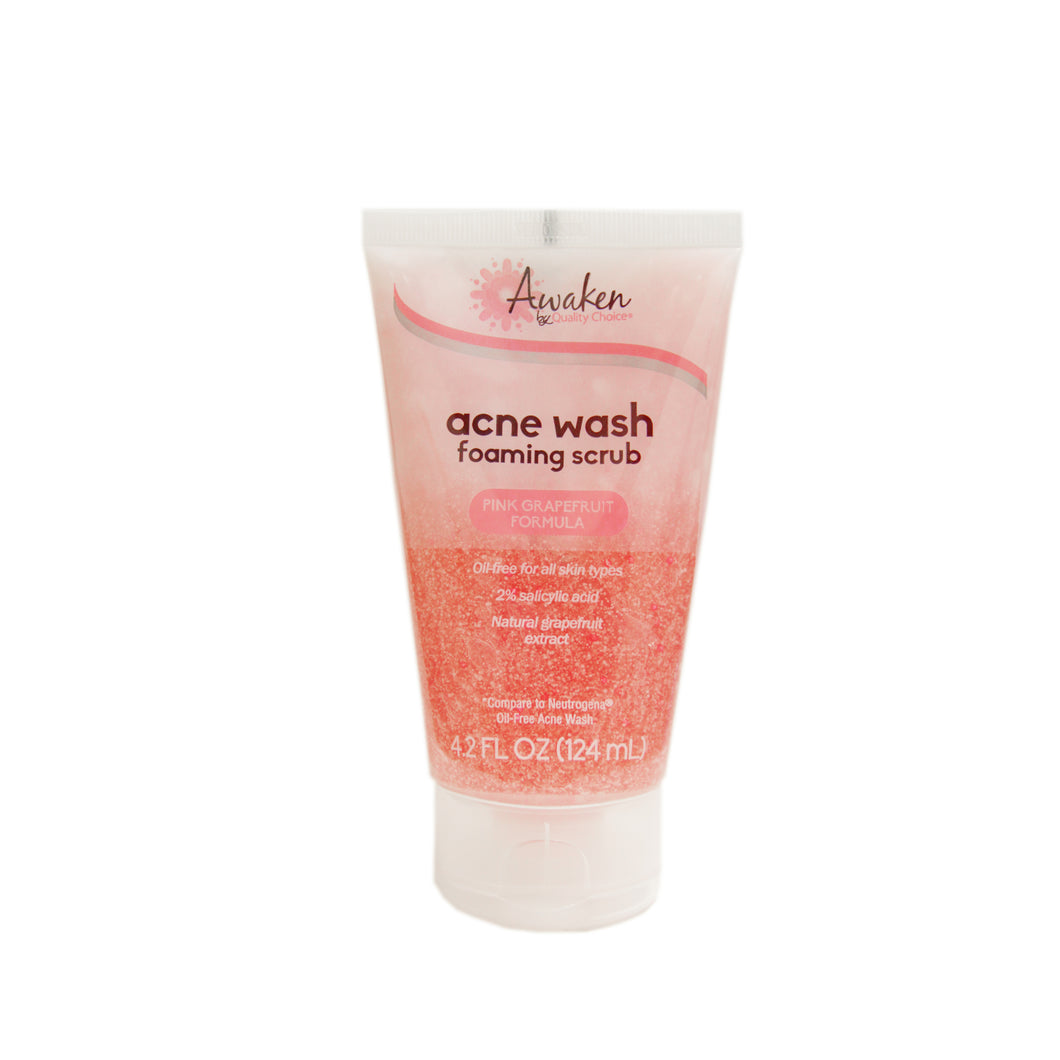 AWAKEN ACNE WASH FOAMING SCRUB (124ml)