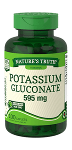 NATURES TRUTH POTASSIUM GLUCONATE 595ml (100 CAPLETS)
