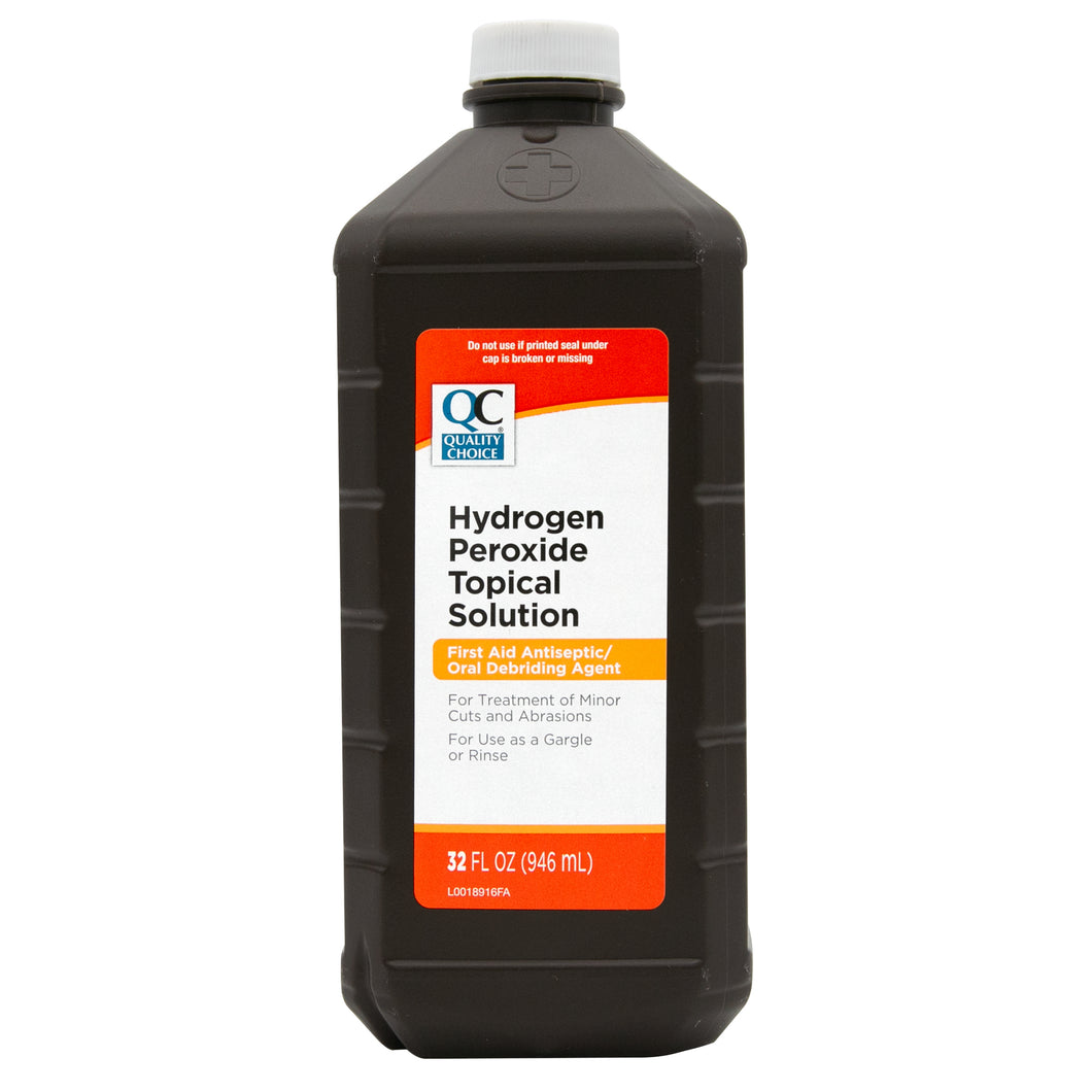 QC HYDROGEN PEROXIDE, FIRST AID ANTISEPTIC (946ml)