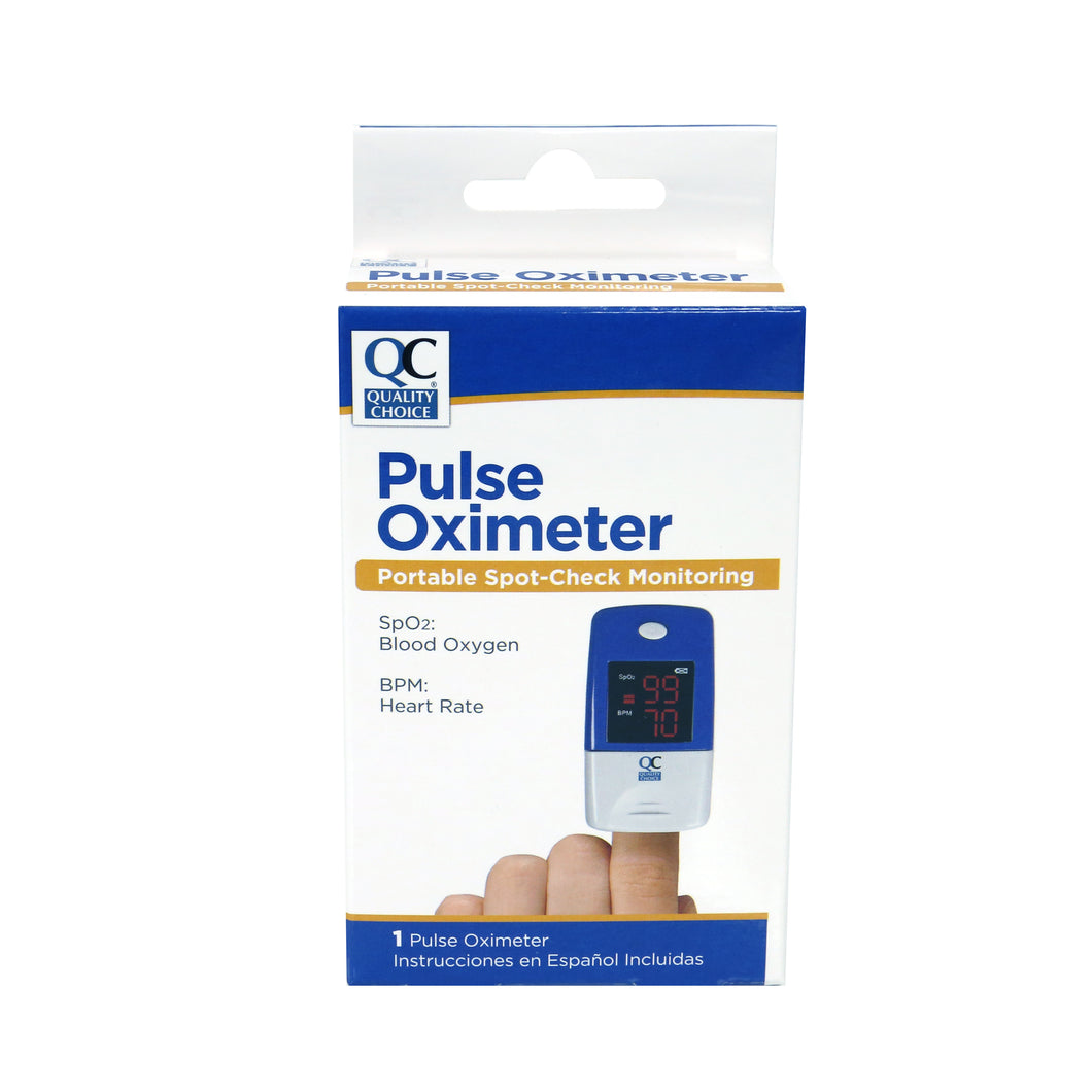 QC PULSE OXIMETER, PORTABLE SPOT CHECK MONITORING - 1 PULSE OXIMETER INCLUDING BATTERIES