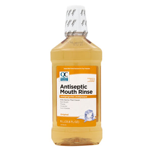 QC ANTISEPTIC MOUTH RINSE, ORIGINAL (1 Litre)