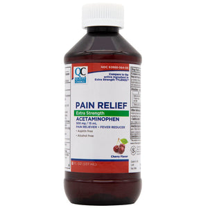 QC PAIN RELIEF EXTRA STRENGTH ACETAMINOPHEN (237ml)