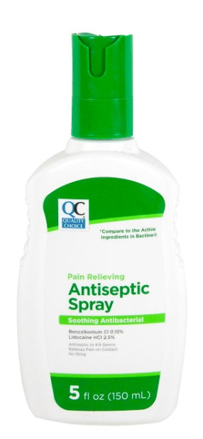 QC PAIN RELIEVING ANTISEPTIC SPRAY (150ml)