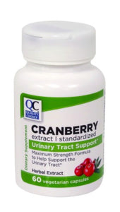 QC CRANBERRY EXTRACT STANDARDISED (60 Vegetarian Tablets)