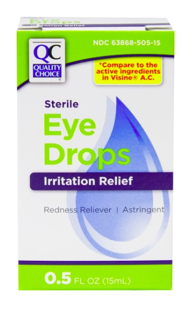 QC STERILE EYE DROPS, IRRITATION RELIEF (15ml)