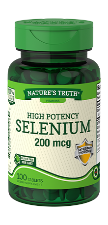 NATURE'S TRUTH HIGH POTENCY SELENIUM 200mcg (100 TABLETS)