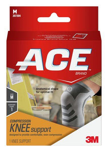 ACE BRAND COMPRESSION KNEE SUPPORT - L/XL